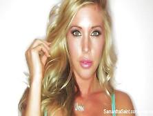 Samantha Saint Sexy Tease
