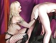Dildo Sissy Slave Used By Mistress