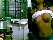 Indian Bhabhi Getting Fucked In The Kitchen By Her Devar