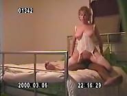 White Slut Milf Humping On Black Cock