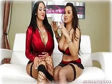 Amy Anderssen & Lisa Ann Hot Lesbians