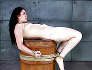 Hot Brunette Harley Ace Tied Up And Teased