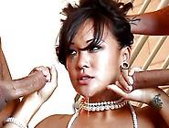 Chinese Babe Jandi Lin Spitroasted