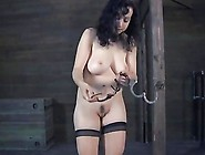 Tied Up Beauty Waits With Fear For Her Next Sexy Torture
