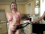 Misha Mayfair Whipped Before Being Plowed Hard By Her Master