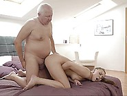 Disgusting Old Fuck + A Horny Teen