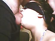 Throat Fucking My Naughty Blindfolded Girlfriend