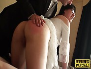 British Bdsm Nymph Spanked And Flogged Before Sex