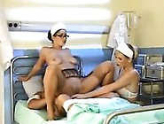 Sexy Nurses And A Patient In A Threesome