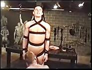 Dishy Teen Sex Slave Getting Blown