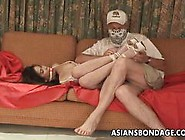 Bound Asian Enjoys Bdsm