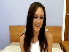 Horny Pretty Young Girl Blow-Job In Casting