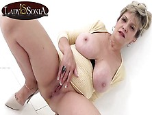 Busty Blonde Cougar Whore Sonia Has A Filthy Mind
