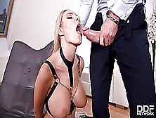 Florane Russell Is A Kinky Blonde Cock Teaser,  Who Is Always In The Mood For Anal Sex