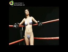 Topless Boxing - Goldie
