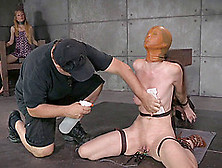 Elaborate Treatment For Her Juicy Beaver Down In The Sex Dungeon