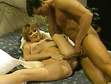 Vintage Hardcore With Blonde Girl
