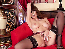 Nasty Slut Kate Anne Opens Her Legs To Pleasure Her Hairy Pussy
