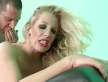 Blonde Cougar With Huge Tits Enjoying A Hardcore Doggy Style Fuc