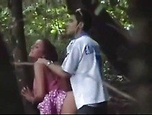 Super Nasty Couple Is Having Some Rough Outdoor Sex