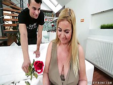 Mature Chick With Big Saggy Tits Pam Pink Is Fucked By Young Dude