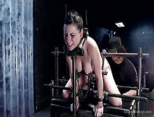 Classy Veruca James Performing In Bdsm Action