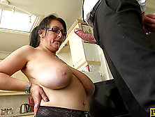 Pussy Drilling And Vibrating With Large-Breasted Sabrina Jade