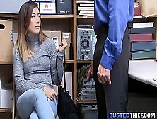 Virgin Asian Teen Shoplifter Fucked By Cop