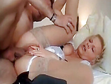 Sexy Cougar Wife Loves 69 Sex With Her New Boss On Vacation