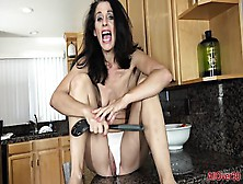 Masturbation In Kitchen
