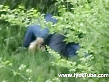 Voyeur - Officemates Fucking At The Grass