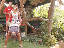 Swapping Partners Outdoors Started By Two Hotties Bernice And Ci