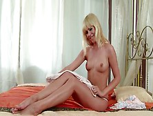 Spicy Blonde Tracy Gold Teasing And Fingering Solo