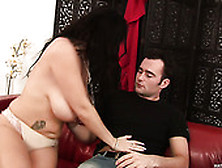 Milf reny massive hangers fucked in stockings