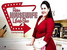 Model Time Karla Lane's Retro Housewife Lifestyle Is Masturbation!