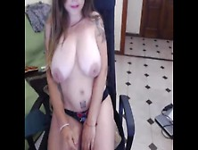 Petite Bbw Teen Babe With Huge Tits And Big Ass Webcam Stripping