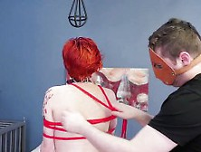 Blowjob Training Bondage And Blonde Glasses Analmal