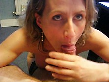 Cock Hungry Milf Gives A Bj In Pov Style