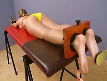 Czech Tickling Foot Tickled Zoe In Bikini