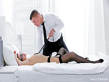 Stunning Russian Babe Mary Kalisy Gets Blindfolded And Fucked Sensually