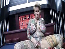 Milf With Lots Of Tattoos Loves Hardcore Sex