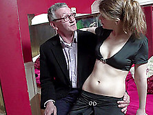 Older Guy From Poland Fucks A Hooker And Lets Her Spit Cum In Hi