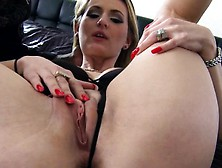 Brunette Milf Doxy Pounded By A Massive Black Cock