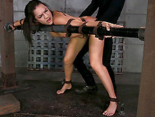 Two Cocks For A Sex Slave Who Enjoys Being Plowed By Her Masters