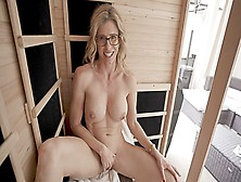 Naked Sauna Fun With My Friends Alluring Mom Cory Chase