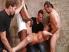 Extreme Wild Gangbang For Redhead