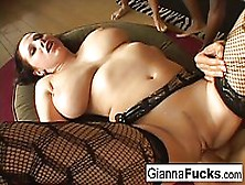 Blue- Eyed Brunette With Big Boobs,  Gianna Michaels Is Getting Her Daily Dose Of Wild Fuck