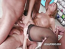 Allen Benz First Time In Porn.  Intense Dp,  Dap 4 Swallows.  Pussy
