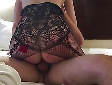 Thick Milf Wife Cuckold In Lingerie
