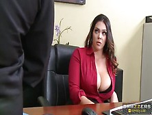 Office Sex Video Featuring Alison Tyler And Xander Corvus